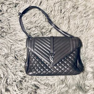 Yves Saint Laurent Large Envelope Handbag